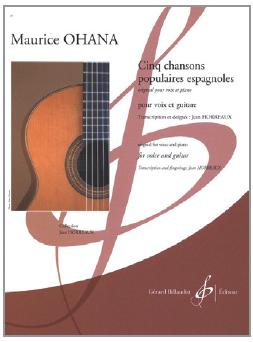 Cinq chansons populaires espagnoles