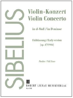 violin concerto in d minor sibelius