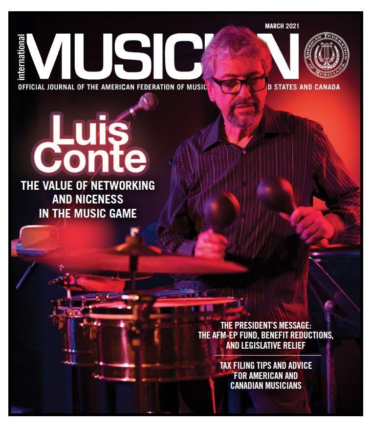 V119-03-March 2021 - International Musician Magazine